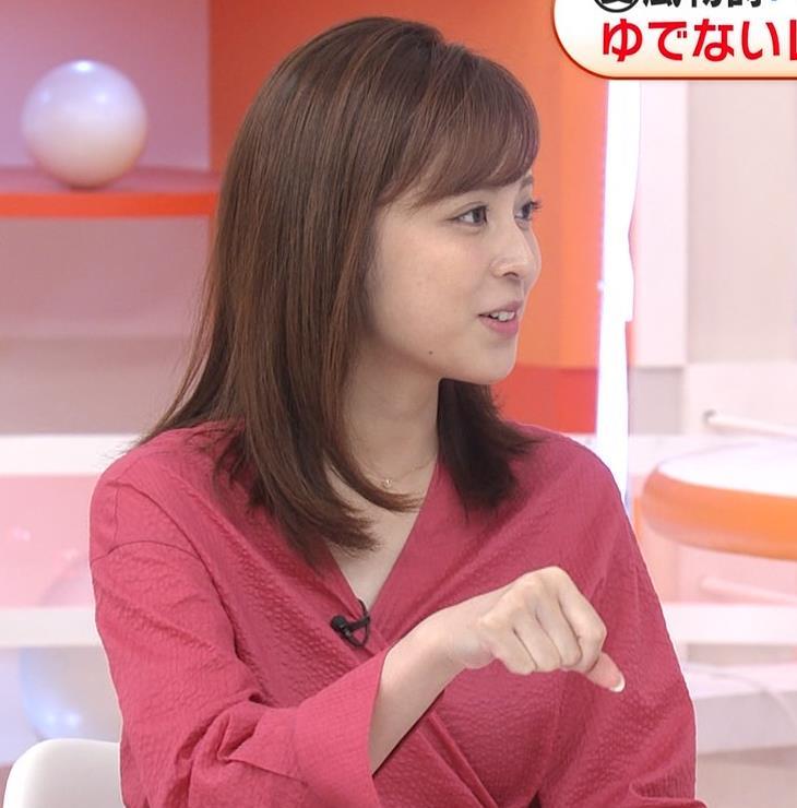 久慈暁子アナ 「めざましどようび」 キャプ・エロ画像7