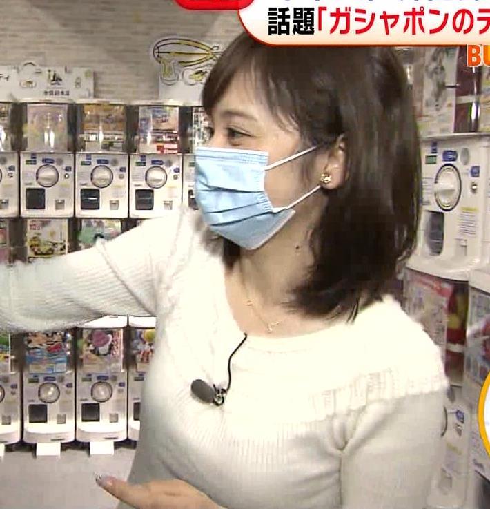 久慈暁子アナ 大きくないけどエロいニット横乳キャプ・エロ画像12