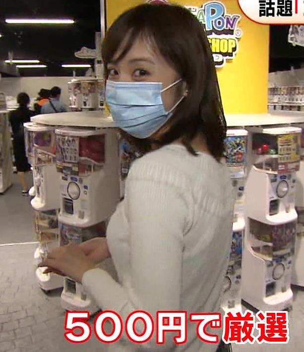 久慈暁子アナ 大きくないけどエロいニット横乳キャプ・エロ画像15