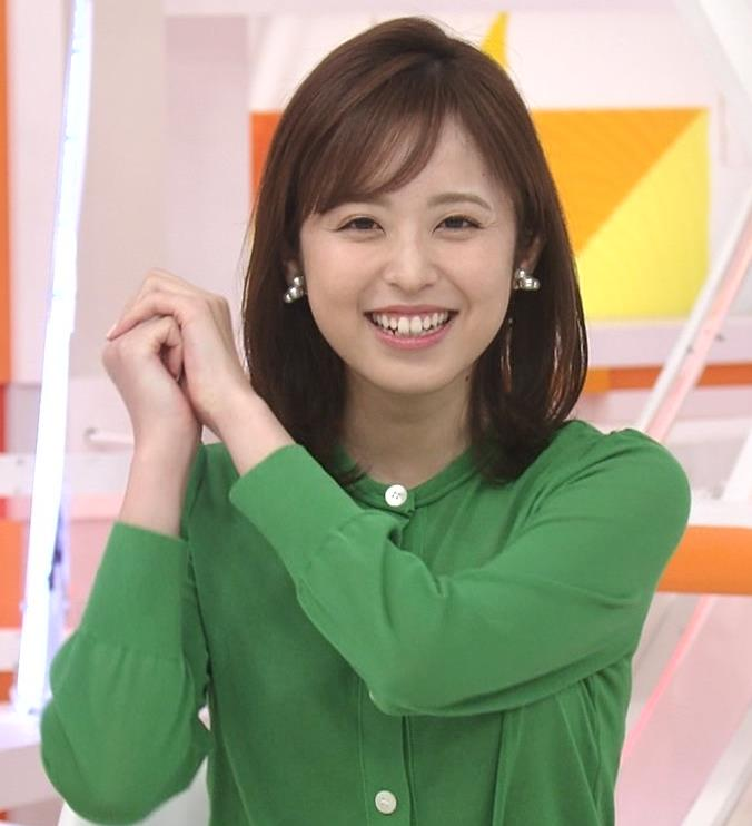 久慈暁子アナ 朝から横乳がエロい放送キャプ・エロ画像12