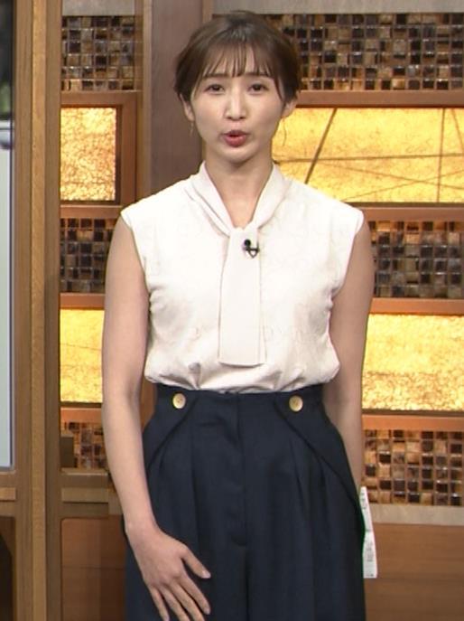 眞家泉  報道ステーションの気象予報士の横乳キャプ・エロ画像2
