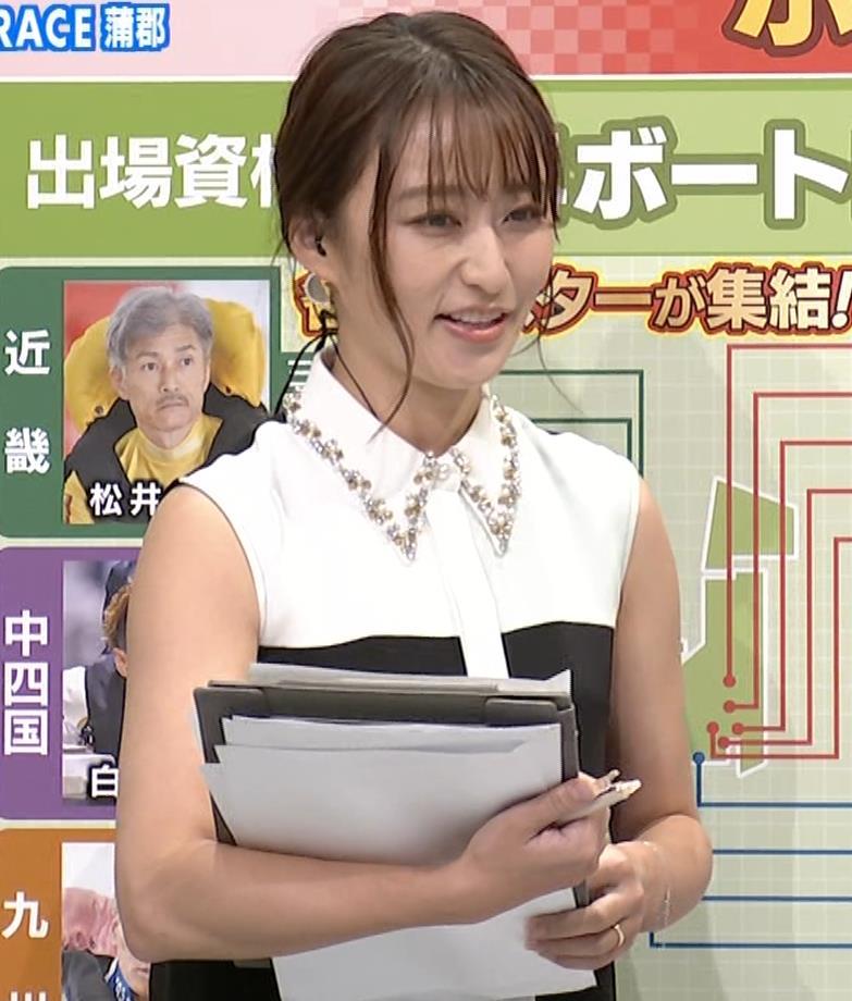 枡田絵理奈 ノースリーブ姿キャプ・エロ画像11