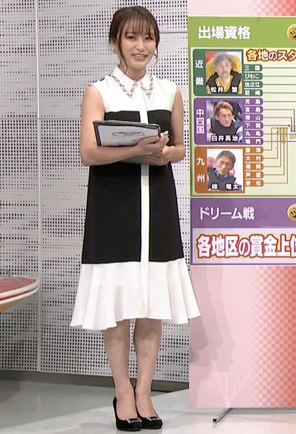 枡田絵理奈 ノースリーブ姿キャプ・エロ画像5