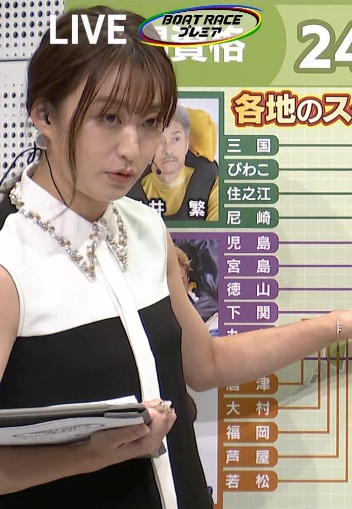 枡田絵理奈 ノースリーブ姿キャプ・エロ画像6