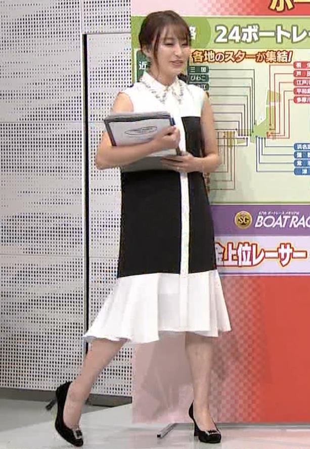 枡田絵理奈 ノースリーブ姿キャプ・エロ画像8