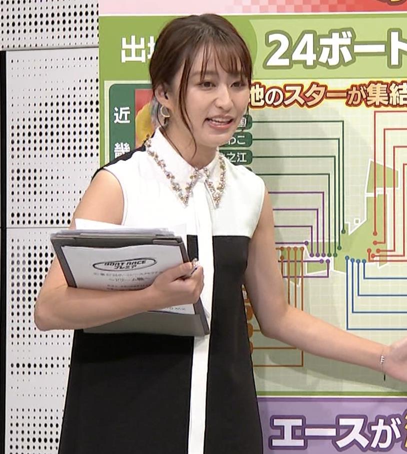 枡田絵理奈 ノースリーブ姿キャプ・エロ画像9