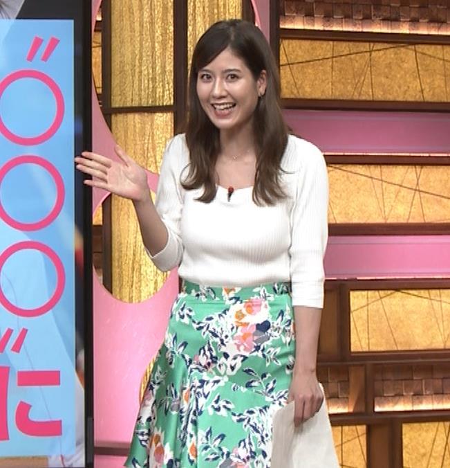 桝田沙也香アナ ニットおっぱいがでかくて揺れた(GIF)キャプ・エロ画像