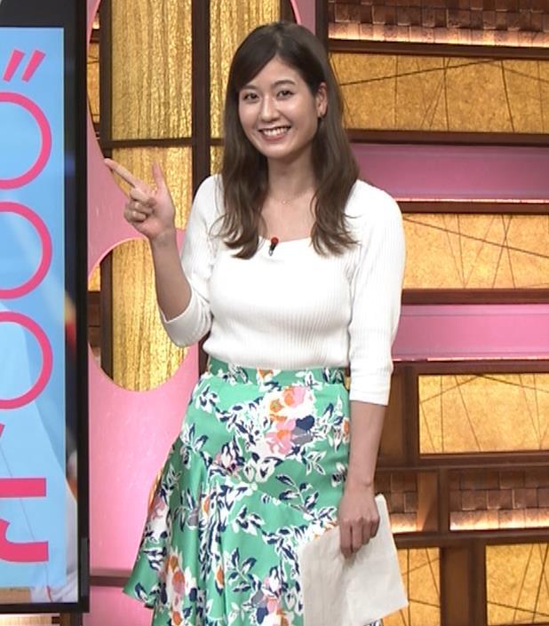 桝田沙也香アナ ニットおっぱいがでかくて揺れた(GIF)キャプ・エロ画像5