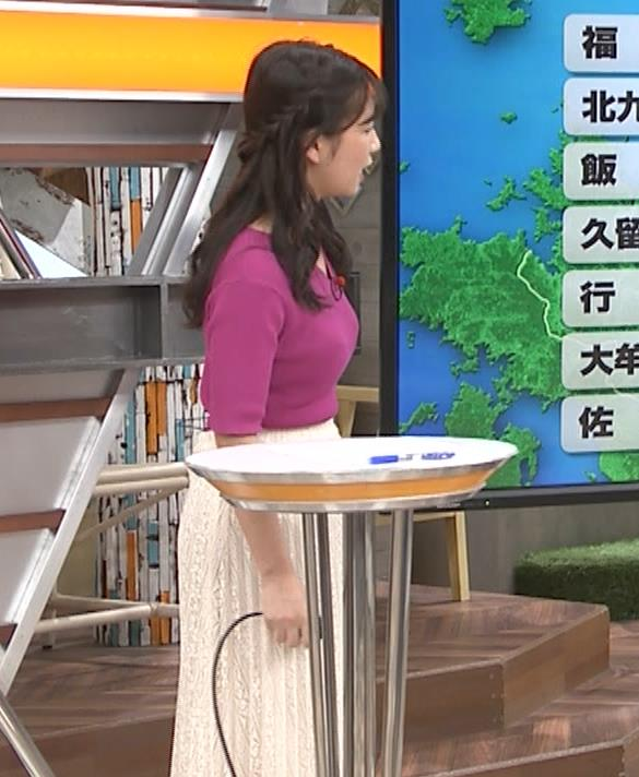 松下有菜 かわいい気象予報士キャプ・エロ画像
