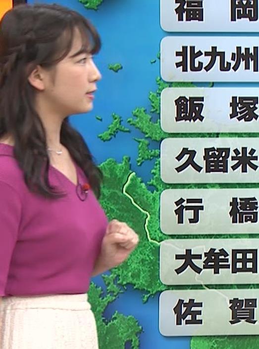 松下有菜 かわいい気象予報士キャプ・エロ画像3
