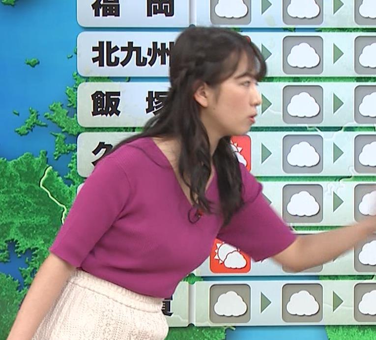 松下有菜 かわいい気象予報士キャプ・エロ画像4