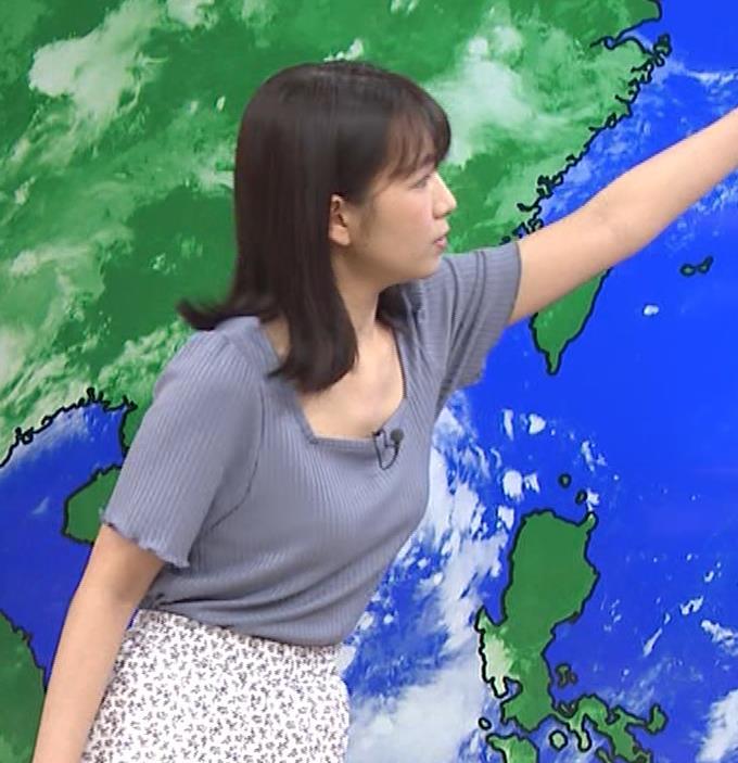 松下有菜 かわいい気象予報士キャプ・エロ画像6