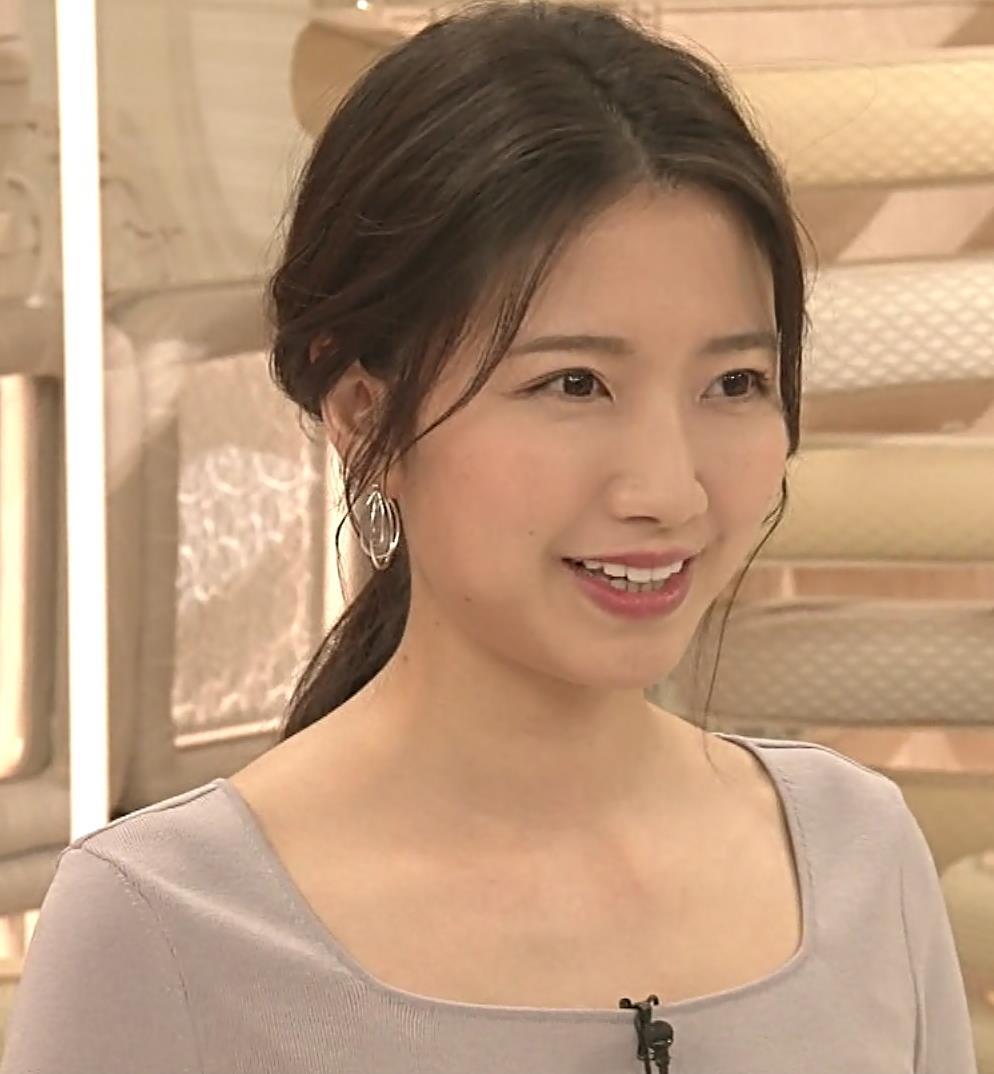 三田友梨佳アナ 薄着でセクシーキャプ・エロ画像10