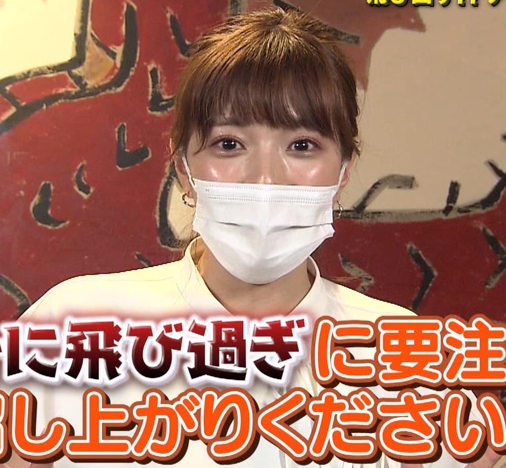 三谷紬アナ 疑似フェラで汁が飛び出るハプニングキャプ・エロ画像14