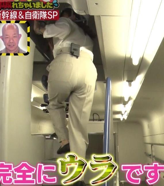 三谷紬アナ 大きいお尻とぴっちり太ももキャプ・エロ画像5