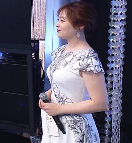 水卜麻美アナ 横乳エロキャプ・エロ画像3
