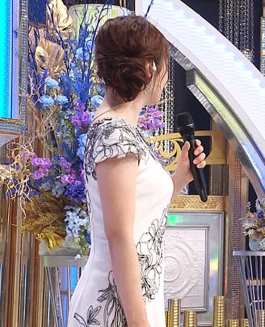 水卜麻美アナ 横乳エロキャプ・エロ画像7