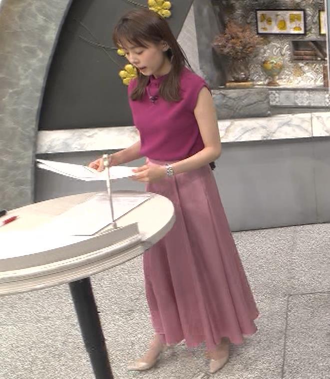 宮澤智アナ ノースリーブの横乳キャプ・エロ画像3