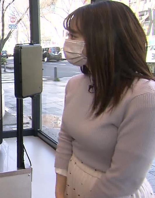 森香澄アナ ニットおっぱい!キャプ・エロ画像