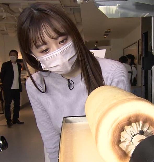 森香澄アナ ニットおっぱい!キャプ・エロ画像7