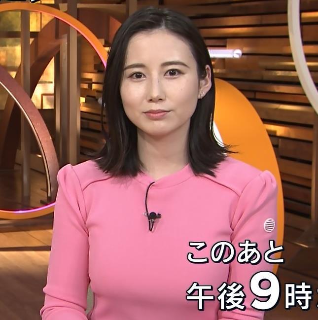 森川夕貴アナ 大きいおっぱいが際立つ衣装キャプ・エロ画像