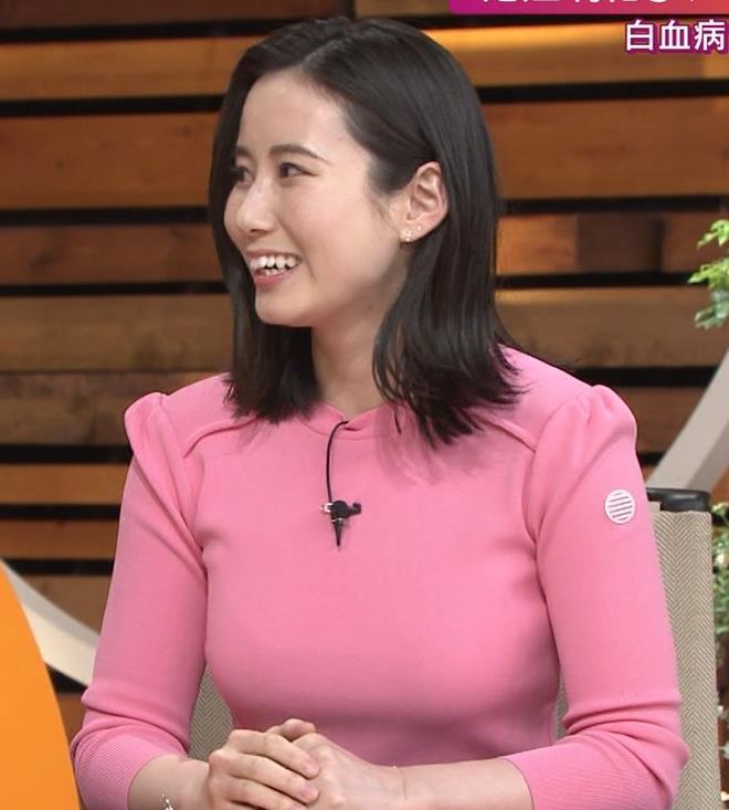 森川夕貴アナ 大きいおっぱいが際立つ衣装キャプ・エロ画像11