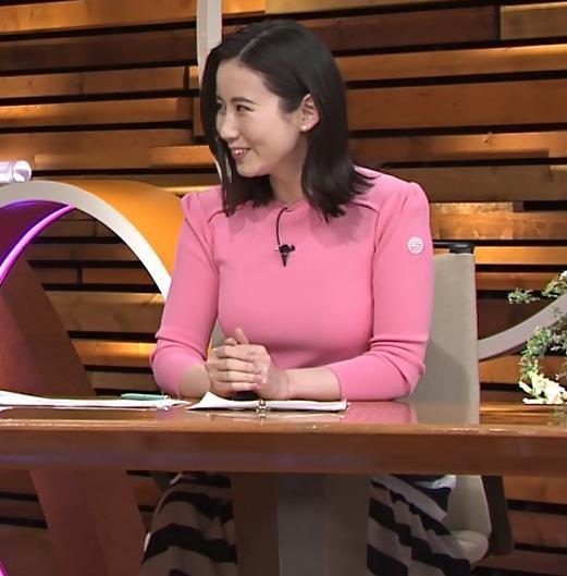 森川夕貴アナ 大きいおっぱいが際立つ衣装キャプ・エロ画像4