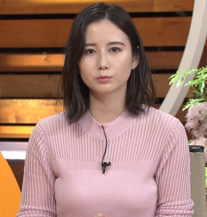 森川夕貴アナ おっぱいが際立つニットキャプ・エロ画像6