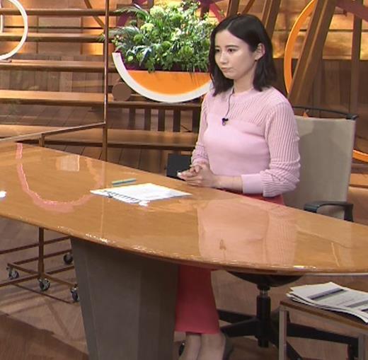 森川夕貴アナ おっぱいが際立つニットキャプ・エロ画像9