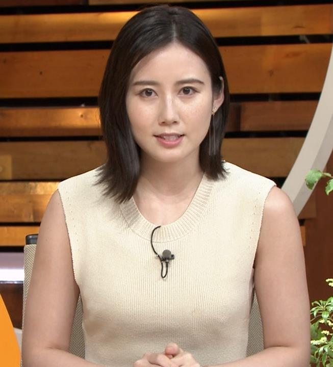 森川夕貴アナ セクシーなノースリーブキャプ・エロ画像5