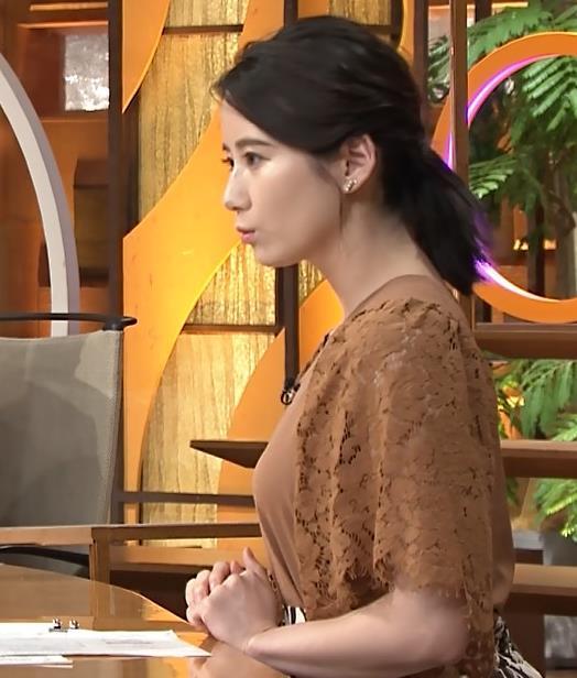 森川夕貴アナ でかい横乳のアップキャプ・エロ画像5