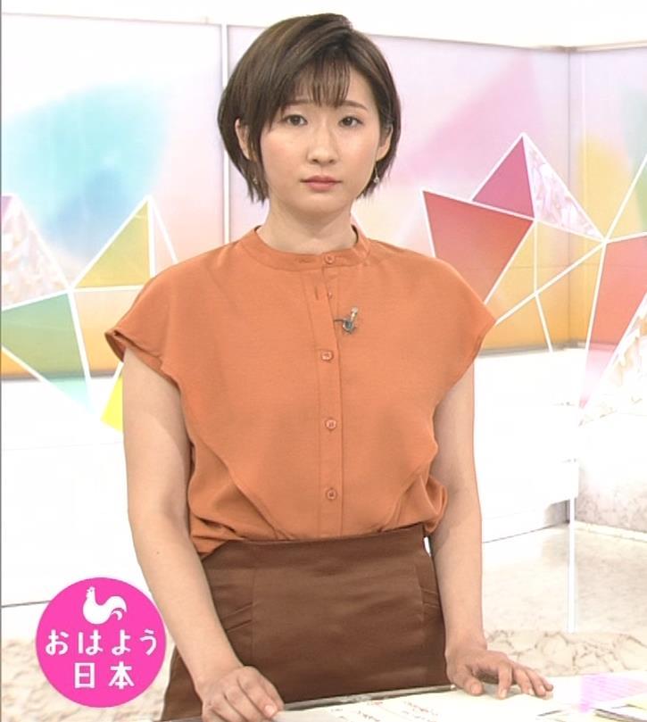 森下絵理香アナ タイトスカート姿キャプ・エロ画像4