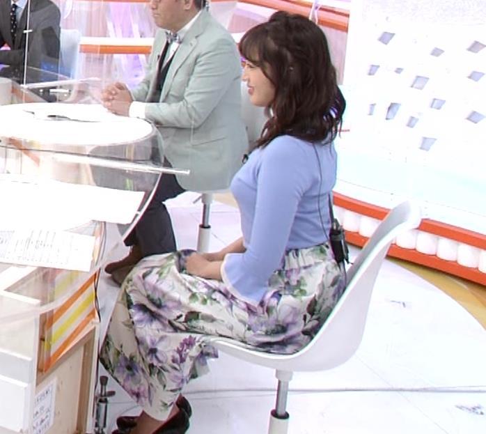 永尾亜子アナ でかい横乳キャプ・エロ画像