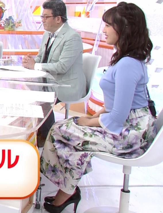 永尾亜子アナ でかい横乳キャプ・エロ画像2