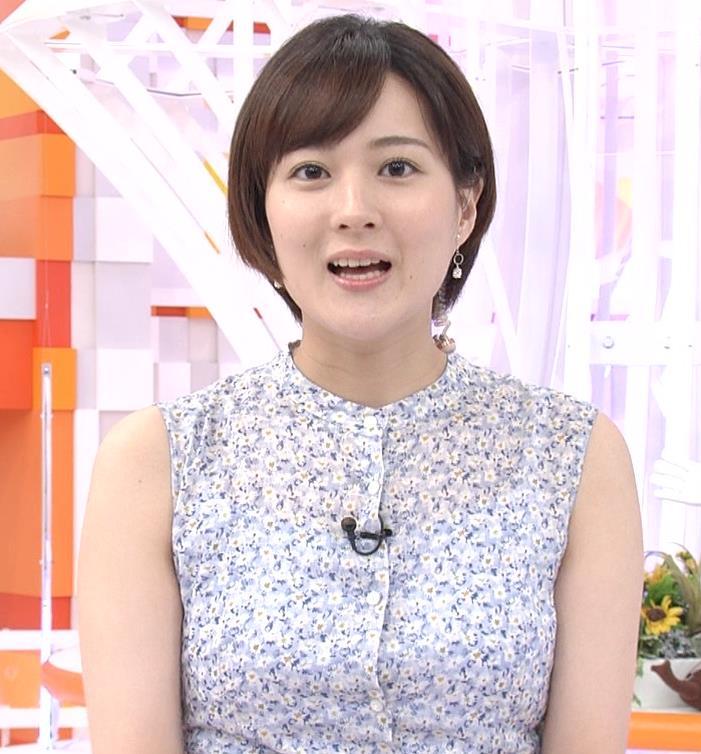 永尾亜子アナ ノースリーブ姿キャプ・エロ画像