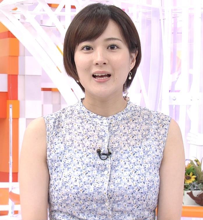 永尾亜子アナ ノースリーブ姿キャプ・エロ画像4