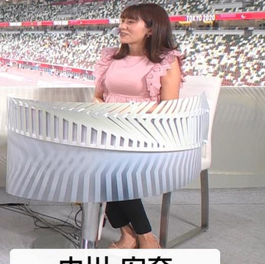 中川安奈アナ お胸がパンパンキャプ・エロ画像