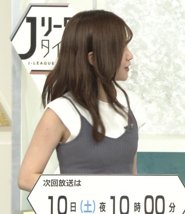 中川絵美里 ノースリーブでワキエロキャプ・エロ画像4