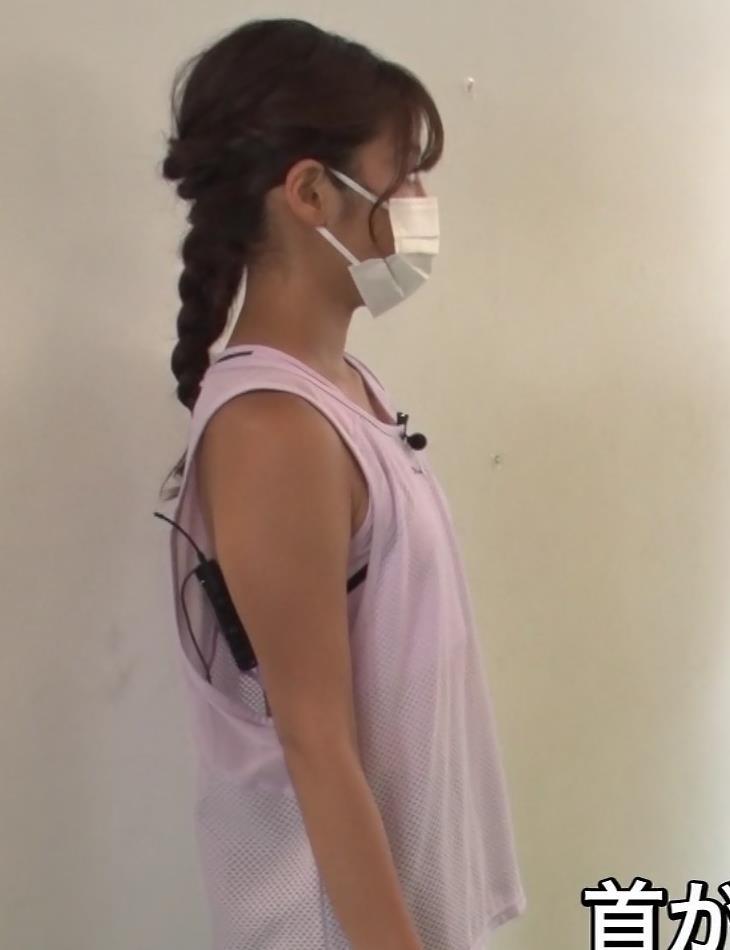 岡副麻希 トレーニングでエロキャプ・エロ画像6