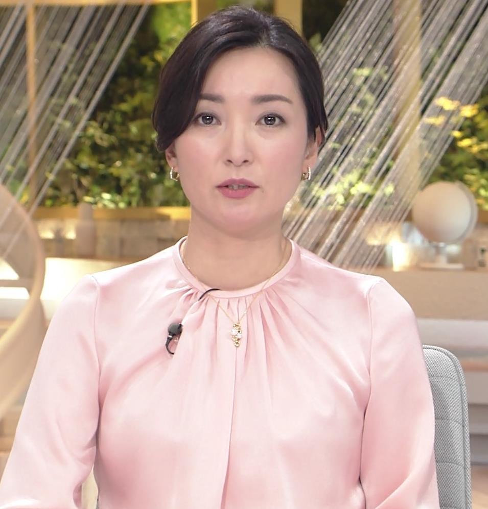大江麻理子アナ スカート美脚キャプ・エロ画像