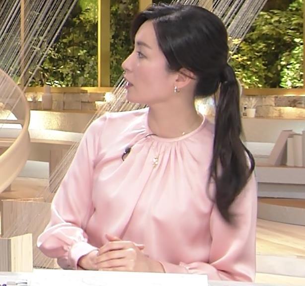 大江麻理子アナ スカート美脚キャプ・エロ画像7