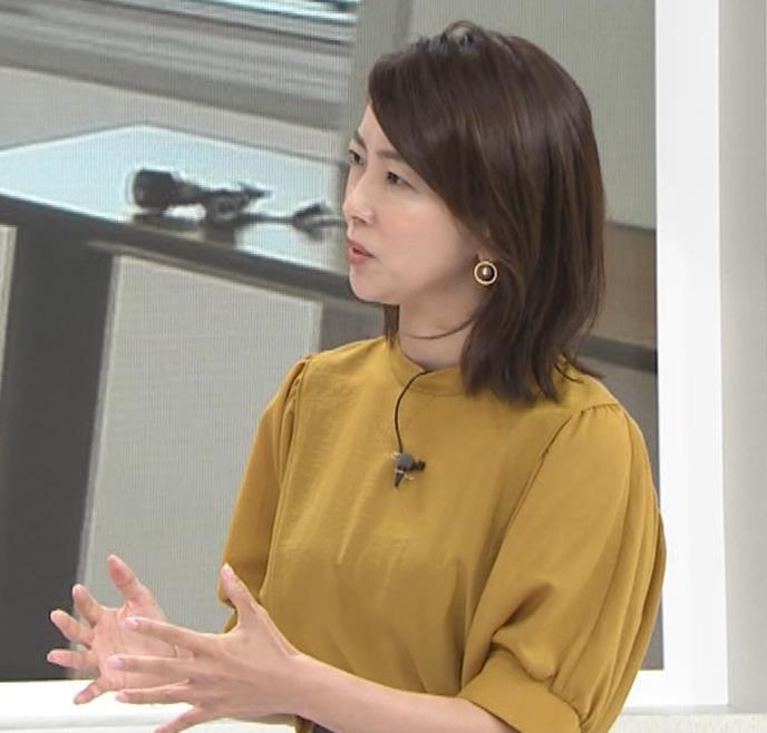 大木優紀アナ 40歳よりは若く見えるキャプ・エロ画像2