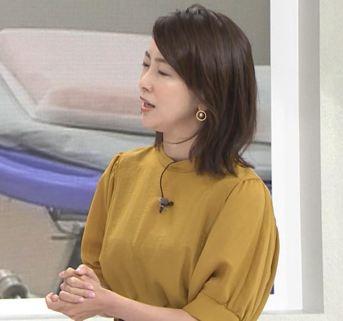 大木優紀アナ 40歳よりは若く見えるキャプ・エロ画像3