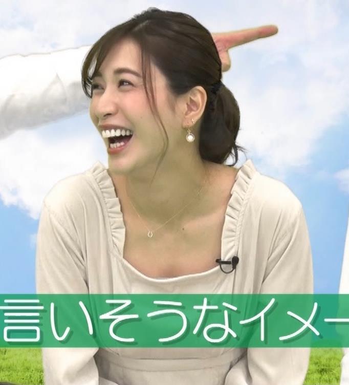 大島麻衣 胸元チラチラキャプ・エロ画像7
