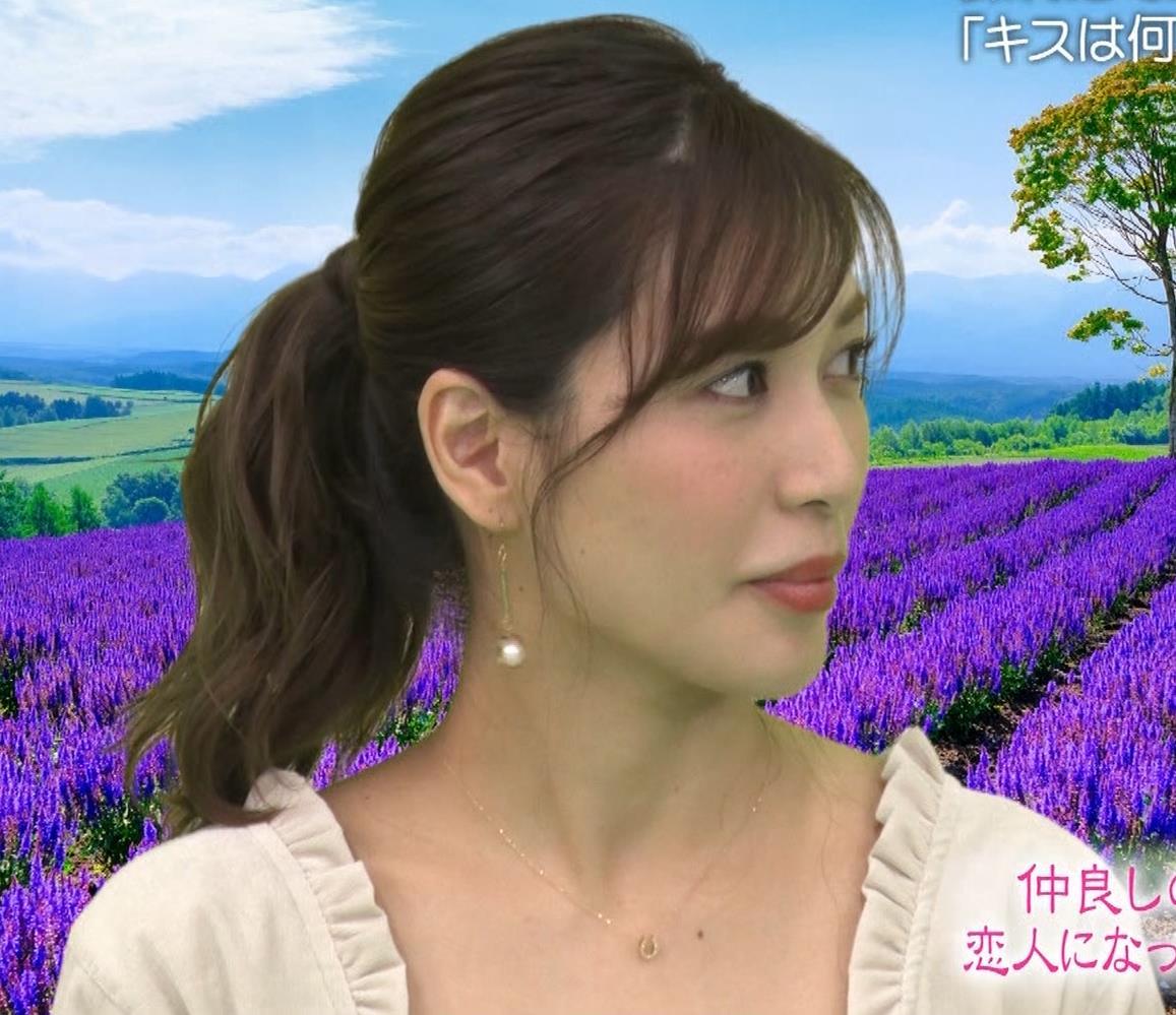 大島麻衣 胸元チラチラキャプ・エロ画像10