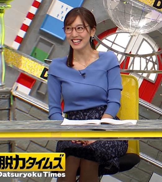 小澤陽子アナ 「全力!脱力タイムズ」 キャプ・エロ画像5