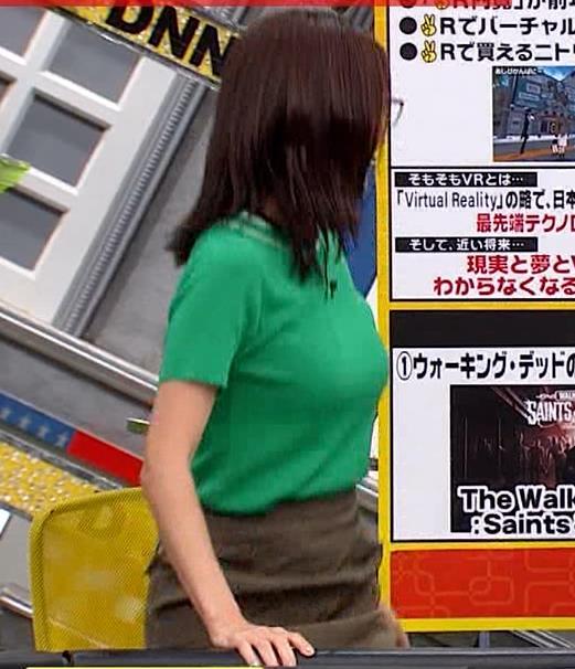 小澤陽子アナ デカい横乳キャプ・エロ画像5