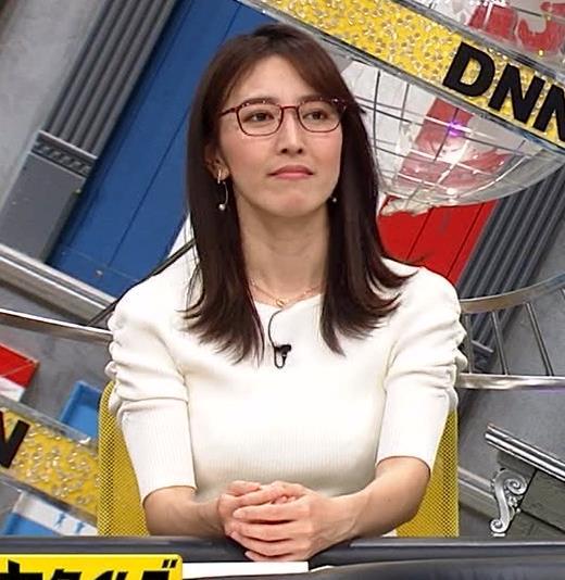 小澤陽子アナ タイトでエッチな衣装キャプ・エロ画像5