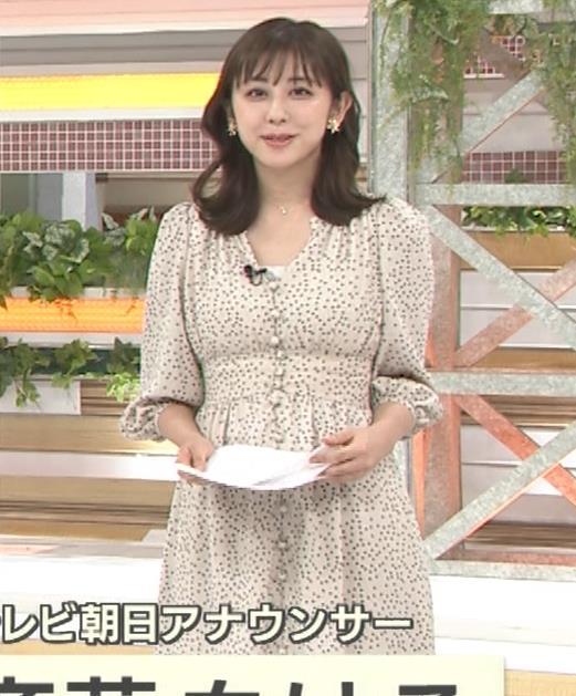 斎藤ちはるアナ コロナから復帰して胸元チラキャプ・エロ画像2