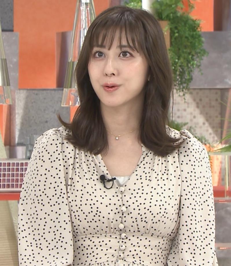 斎藤ちはるアナ コロナから復帰して胸元チラキャプ・エロ画像3
